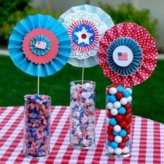 How to Make 4th of July and Memorial Day Crafts