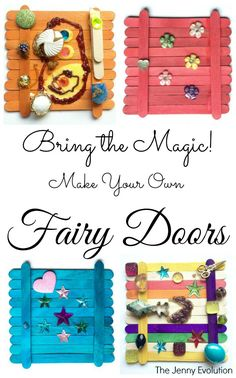 Bring the Magic! DIY Fairy Door @jennyevolution : Featured Post on Turn it up Tuesdays