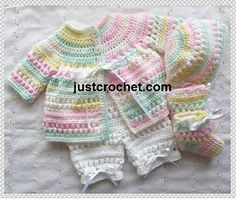 Ravelry: Baby crochet pattern JC151NB pattern by Justcrochet Designs 2.50