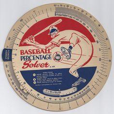 Baseball volvelle front by NJ Baseball, via Flickr