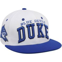 Zephyr Duke Blue Devils White-Duke Blue Superstar Snapback Hat by Zephyr.   21.95. Your NCAA® pride will be on full display when you wear the Zephyr®  Super ... fc58a3943faf
