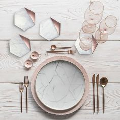 Details of Hexagon Marble Rose Gold Set of 4 Coasters Bar Coasters or Living . - Details about Hexagon Marble Rose Gold Set of 4 Coasters Bar Coasters or home accessories - Bar Coasters, Marble Coasters, Home Decor Accessories, Decorative Accessories, Rose Gold Kitchen Accessories, Diy Marble, Chartreuse Decor, Cute Dorm Rooms, Bar Set