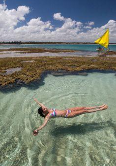 Porto de Galinhas, a 70 quilômetros ao sul de Recife, Brasil  http://www.msn.com/pt-br/viagem/noticias/conhe%C3%A7a-porto-de-galinhas-o-para%C3%ADso-das-piscinas-naturais/ar-BBagdnQ