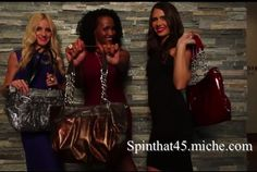 Love the latest from Miche's Winter Catalogue.  www.spinthat45.miche.com