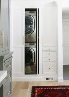 """Explore our website for more info on """"laundry room stackable washer and dryer"""". It is actually an outstanding location for more information. Laundry Room Storage, Laundry Room Design, Laundry In Bathroom, Laundry In Kitchen, Hidden Laundry Rooms, Kitchen Sink, Laundry Basket, Hidden Bath, Small Laundry Closet"""