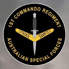 1st Commando Regiment Stickers #australia #specialforces #commando #1st
