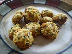 healthy and clean eating zucchini poppers