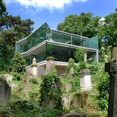 Dream Home : House in Highgate Cemetery by Eldridge Smerin