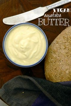 How to Use Aquafaba: Vegan butter recipe from Plante Pusherne. It's surprisingly…