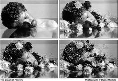 Sueño de flores // The dream of flowers (by Duane Michals, Narrative Photography, A Level Photography, Photography Projects, Artistic Photography, Fine Art Photography, Amazing Photography, Photography Storytelling, Conceptual Photography, Photography Gallery