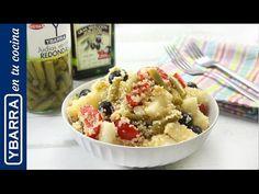 Ensalada de verano Ybarra, una receta colorida y llena de sabor.