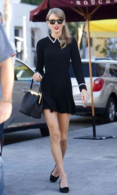 Taylor Swift and Jamie King lunch in Beverly Hills // tres chic