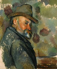 Paul Cézanne: Self-Portrait with a Hat, 1890-94