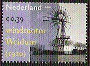 2002: Windpump Installation, Weidum (1920) (הולנד) (Industrial heritage) Mi:NL 2038,Yt:NL 1961