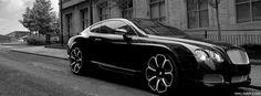 Bentley Continental GT — #bentleycontinentalgt #bentleycontinental #bentley #continental #gt #bentleygt #black — http://www.maxamp.com
