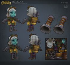 League of Legends: Tristana 2 by *MissMaddyTaylor on deviantART