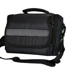 DSLR Camera Shoulder Bag Case For Canon EOS 1200D 70D 100D 700D 750D 760D 1000D 1100D etc (Black)