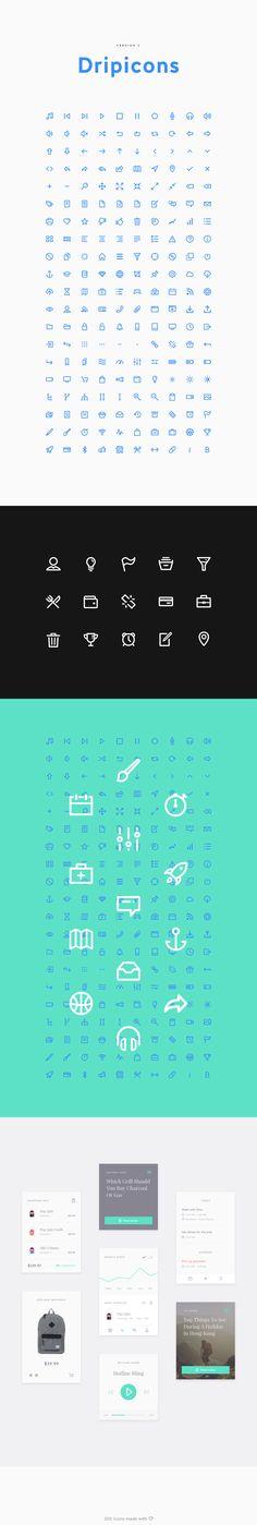 Dripicons V2 (Free Iconset) - SVG, Webfont, PSD, Sketch on Behance