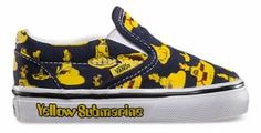 The Beatles and Vans team up for the coolest shoes for your little rock star. #CraveIt #babies #music #shoes