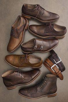 Ich weiß ja nicht - bisschen fad - aber gut: 5 Must Have Shoes in Every Man's Wardrobe #MensShoes #MensStyle