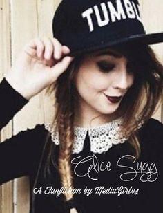 Alice Sugg (bk 3) (Zoella/ThatcherJoe fic) possible cover #9 by Twitter user @yoghurtpanda