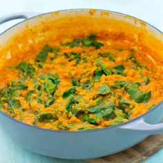 Yellow Split Pea and Spinach Dhal You are in the right place about healthy dinner recipes low carb Here we offer you the most beautiful pictures about the healthy dinner recipes you are looking for. When you examine the Yellow Split Pea and Spinach Dhal … Vegetarian Recipes Dinner, Healthy Chicken Recipes, Healthy Dinner Recipes, Crockpot Recipes, Vegan Vegetarian, Vegan Curry, Eat Healthy, Healthy Meals, Midweek Meals