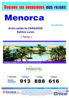 4ª Ed Las vacaciones mas felices. Hotel Prinsotel La caleta salidas desde Zaragoza - http://zocotours.com/4a-ed-las-vacaciones-mas-felices-hotel-prinsotel-la-caleta-salidas-desde-zaragoza/