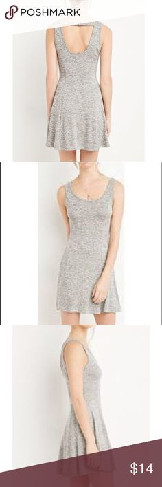 Heather Grey Marled Fit & Flare Dress Brand new - never worn! Very comfortable and casual. Forever 21 Dresses Mini