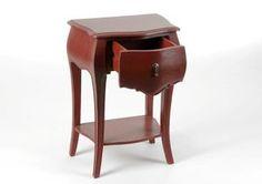 Chevet baroque rouge vieilli de la nouvelle collection d' Amadeus en vente sur le www.legrenierdejuliette.com