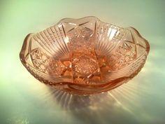 Misa łososiowa lata 70' PRL Hortensja Decorative Bowls, Decorating, Design, Home Decor, Decor, Decoration, Decoration Home, Room Decor, Dekoration