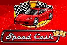 Speel Speed Cash - een klassieke speelautomat met drie rollen van Play'n'go. Dit spelletje heeft alleen een winlijn, maar toch de winkans blijft groot.  Geniet van de luxe symbolen: een rode auto, goudstaven, bankbiljetten en stapels aan munten.