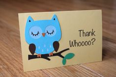 Too cute thank you cards