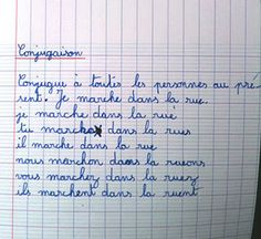 conjugaison .....