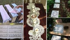 Creative IdeasTop 22 Charming Home Decorating DIYs Can Make With Lace - Creative Ideas