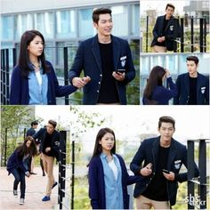 "Kim Woo Bin Grabs Onto Park Shin Hye's Hand in Episode 6 of ""The Heirs"" - Soompi"