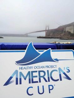 America's Cup Healthy Oceans project helps protect San Francisco Bay with a beach clean up.