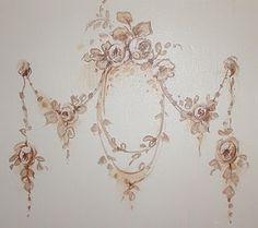 artwork on dresser side