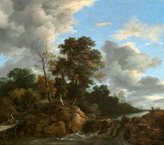 Jacob van Ruisdael - Landschap (1670)