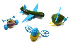 Turn Boring Vegetables into Spaceships and Racecars with Le FabShops 3D Printable Open Toys