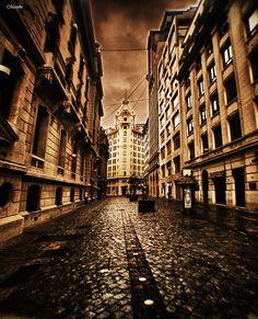 Calle Nueva York, Santiago Chile