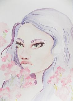 Pastel dreams - watercolour painting by Sofie Arts http://sofiedoesart.com