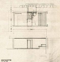 Villa Mairea 1938-39. (sauna interior)