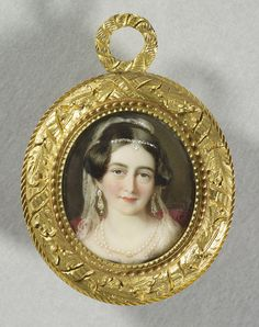 Victoria, Duchess of Kent. 1845.