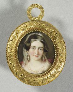 Victoria, Duchess of Kent. 1845.