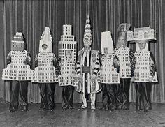 Fantasias de carnaval para arquitetos