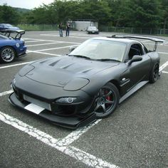FD RX7 I would roll, just suck in AZ heat!  This ride is dope. #fb