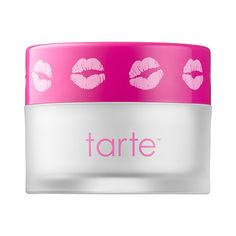 Shop tarte's Pout Prep Lip Exfoliant at Sephora. The balm exfoliates to gently buff away flakes and hydrate lips.