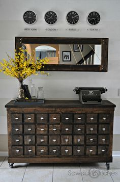 Before and After: Unrecognizable IKEA Console Makeover