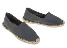 authentic espadrilles shoes. flat comfortable jute rope soles. fabric top in multiple colors. super cool, super trendy.