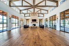 The Lowdown on Using Natural Penetrating Oil Finishes on Wood Floors Dream Home Design, My Dream Home, House Design, Barn House Plans, Pole Barn Homes, Up House, Metal Homes, House Goals, Style At Home